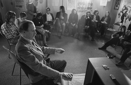 Image of Marshall McLuhan Courtesy the University of Toronto Archives and Robert Lansdale