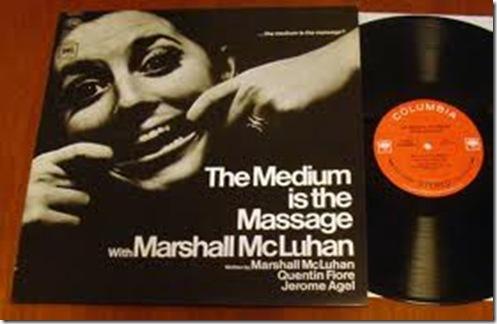 """Оригинальная 12 дюймовая пластинка «The Medium is the Massage"""""""