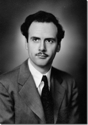 Marshall McLuhan, ca.1936. Library and Archives Canada