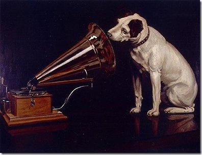 "Френсис Барро, ""His Master's Voice"" («Голос его хозяина»), 1898"